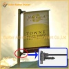 Metal Street Light Pole Advertising Banner System
