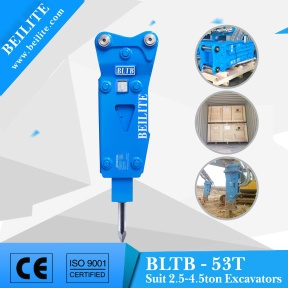 BLTB-53 top type hydraulic hammer for sale - BLTB-53T