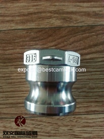 A-A-59326 Stainless steel camlock coupling made in China - 73072900