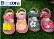 Wholesale baby shoes genuine leather - BOOCORA Squeak shoes