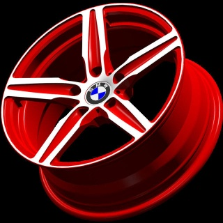 BA01/Monoblock wheels /forged wheels/front mount rims/Aluminum 6061 - BA01