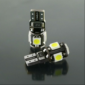 5050 X 5LEDs Led Auto Lights W5W led T10 168 194 Bulb For Automotive Lighting - t10-01