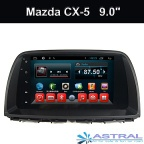 9 Inch Android Quad Core Car DVD Player for Mazda CX-5 Central Multimedia with GPS Glonass Navigation - 9015