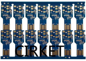 pcbs for USB sound card with Immersion gold - CKTPCB0155