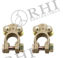 Copper Brass Battery Terminal Clamp Connector - BBT-005