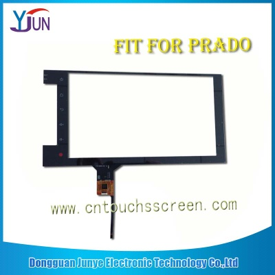 touch screen fit for 10.1 inch prado navigation capacitive - JTS-0JTS-007-101