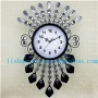 Simple european-style wall clock fashion creative arts large quartz clock bedroom living room Household clocks made new pers - ls11164