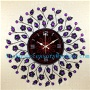 LISHUO European wall clock sitting room quiet personality fashion luxury of modern art creative high-grade large Shi Yingshi - LS11174