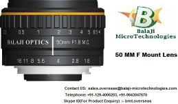 35 MM  & 50 MM F MOUNT MACHINE VISION LENS - F MOUNT LENS