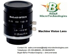 Machine Vision Lens-BalaJi MicroTechnologies (BMT) - MACHINE VISION LENS