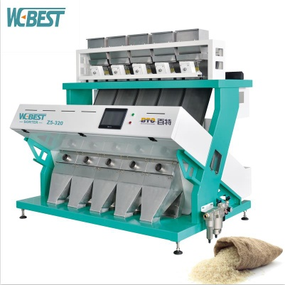 Sell brand new rice color sorter with best price from inland China manufacturer - color sorter machine