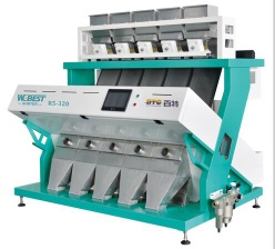 Automatically Cereal color sorting machine high intellient. - CCD color sorter