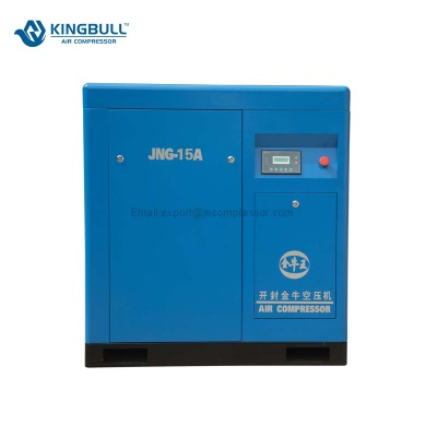 Hot sale ac electric 10 bar screw air compressor - JNG-15A