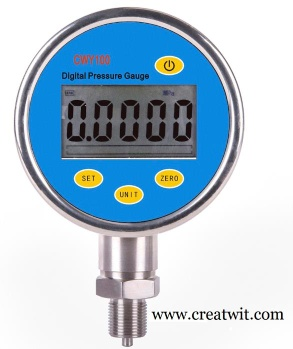 Precision digital pressure gauge - CWY100