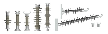 Composite Line Post Insulator for 66-220kV Transmission line - Composite Line Post