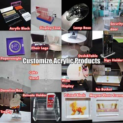 15 Years Manufacturer of Acrylic Displays Customized Acrylic Products - AD-231