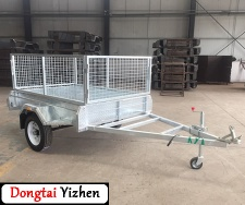6x4 Box Trailer Galvanize Box Trailer - BGT-C614