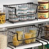 Large Rectangular Stacking Wire Basket, Storage Basket - 133011