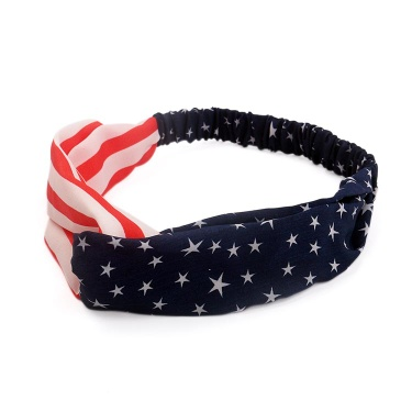 Stylish Hair Accessories Soft Cotton Cross Headband with Hight Quality - DS25997