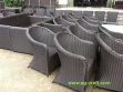 wicker outdoor  chair for export - WK-DIN-001