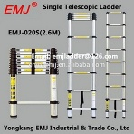 EMJ 2.6m single telescopic ladder - EMJ020S(2.6M)