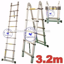EMJ 3.2m joint telescopic ladder - EMJ-020J(3.2M)