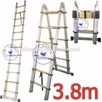 EMJ 3.8m joint telescopic ladder - EMJ-020J(3.8M)