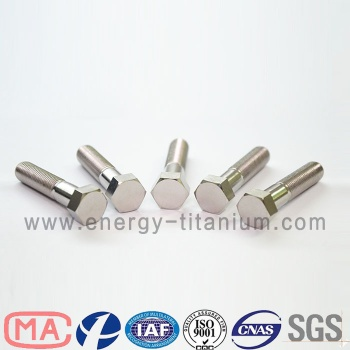 Gr5 titanium alloy Hex Head Bolt - TB07