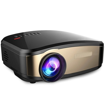Fashion 2019 Portable home theater projectors mini led lcd proyector Topkey C6 - 002