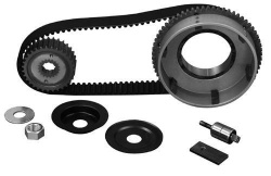 Axle and belt drive - Axle