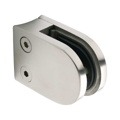 Stainless Steel D-type Glass Clamp