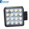 Led work lamp headlight 48W 4WD LED headlamp Square shape for JEEP SUV UTV Tractor - ETK-WL-48W-SQ