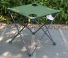 Simple fishing table with cup holder portable folding outdoor garden camping - FE-27