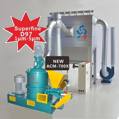New Developed Superfine Powder Mill Scattered Depolymerization - ACM-700X