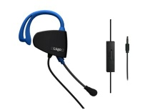 for PS4 Mono Earphone In-Line Chat Headset - FS994103
