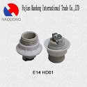 E14 ceramic porcelain lamp holder - E14 cermaic lampbase