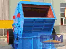 Reliable powerful impact crusher for marble