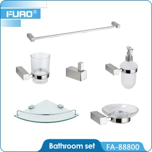 Wall mounted ceramic bathroom set - FA-88800