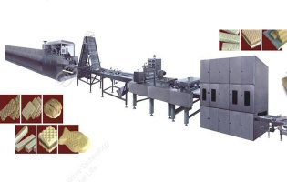 Full-Automatic Electricity Wafer Production line - wafer making machine