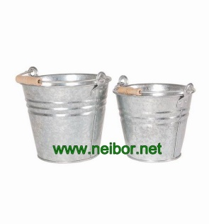 galvanized bucket metal bucket fire bucket ash bucket - BT002