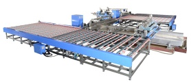 U type Double Edger and Polisher Line - glass machine 1