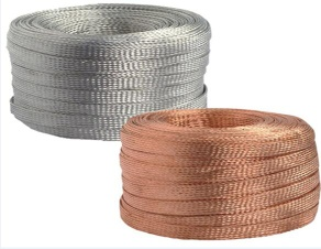 2016 New High Quality Cheap Price Bare Tinned Copper Braid Connector Copper Braid Wire From Glb - Copper Braid Wire