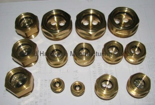 Brass oil level sight glass - 654313
