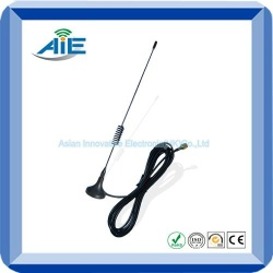 800-900mhz mobile chuck gsm antenna with sma connector - AIE-ANTGSM-M01