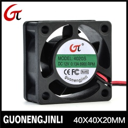 Manufacture selling 12V 4020 cooling fan with long life - GNJL4020
