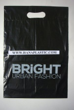 Print on die cut plastic bags - T09765
