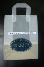 Luxury Softloop handle plastic bags - T54634