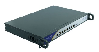 1U Chassis network gateway firewall computer with 6*RJ45 LAN port I3-3240/3.4GHz processor motherboard - R673A