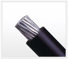 Aluminum alloy electric power cable