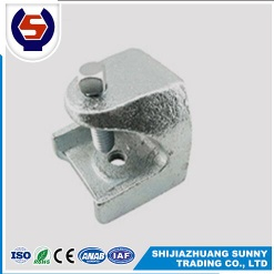 zinc plated malleable casting 1/2 3/8 rod insulator beam clamp - 2